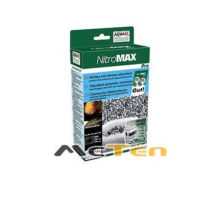 AQUAEL NITROMAX PRO 1L Absorbent azotynów i azotanów zapobiegający zatruciom ryb i rozwojowi glonów