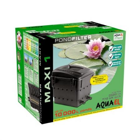 AquaEl Filtr do stawu MAXI 1 10 0001