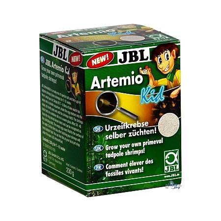 JBL Artemio KID mieszanka jaj artemii i soli do samodzielnej chodowli przez dzieci 230g