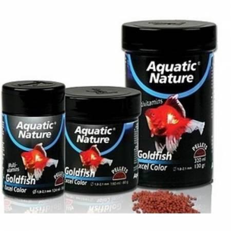 Aquatic Nature GOLDFISH EXEL COLOR S pokarm dla wszystkich ryb akwariowych124ml 50g