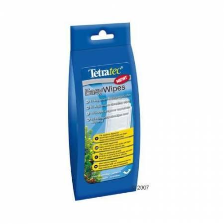 Tetra EasyWipes 10szt chusteczki do czyszczenia elementw wyposażenia zbiorników