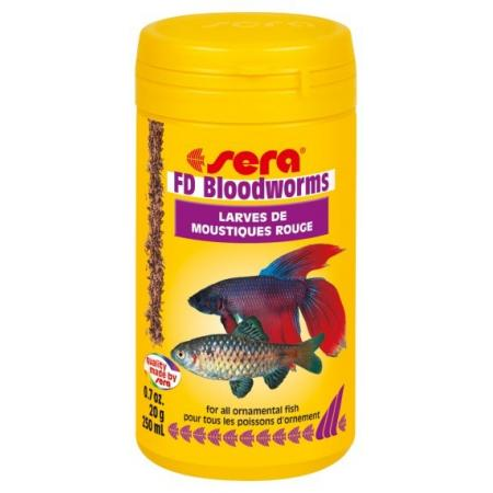 Sera FD Bloodworms 250ml