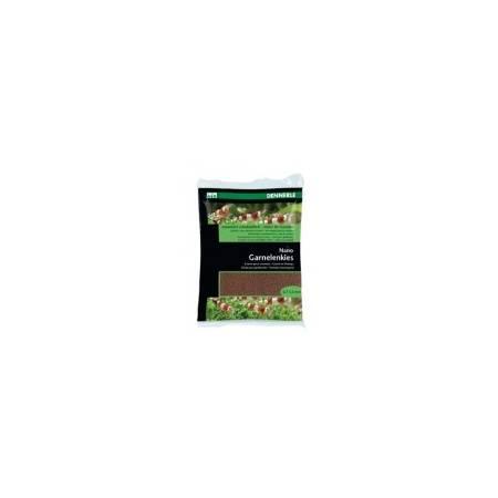 DENNERLE Podłoże dla krewetek Nano Gravel Borneo brown 2kg