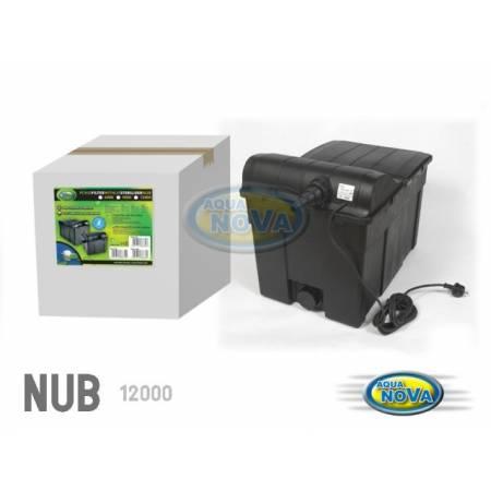 Aqua Nova Filtr przelewowyDo oczka 12000l z lampą UV 18W