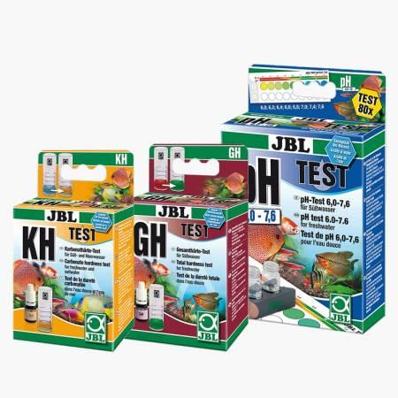 JBL Testy podstawowee KH, GH i pH