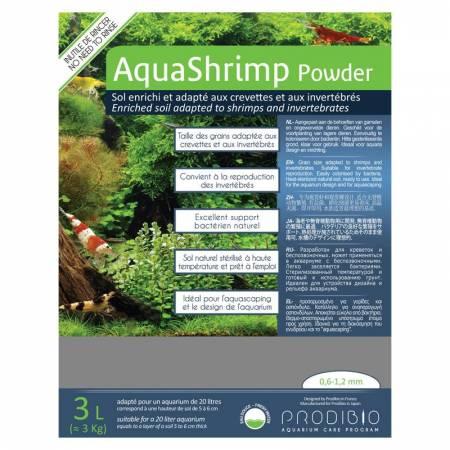 Prodibio AquaShrimp Powder 3L + BacterKit Soil