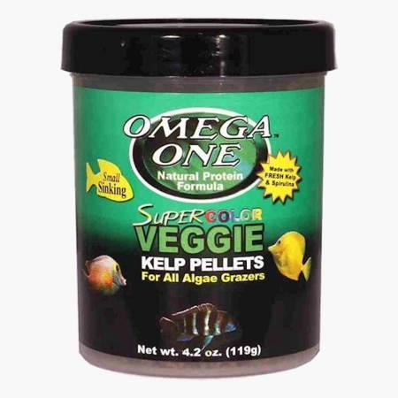Omega One Super Color Kelp Pellets Sinking 119g