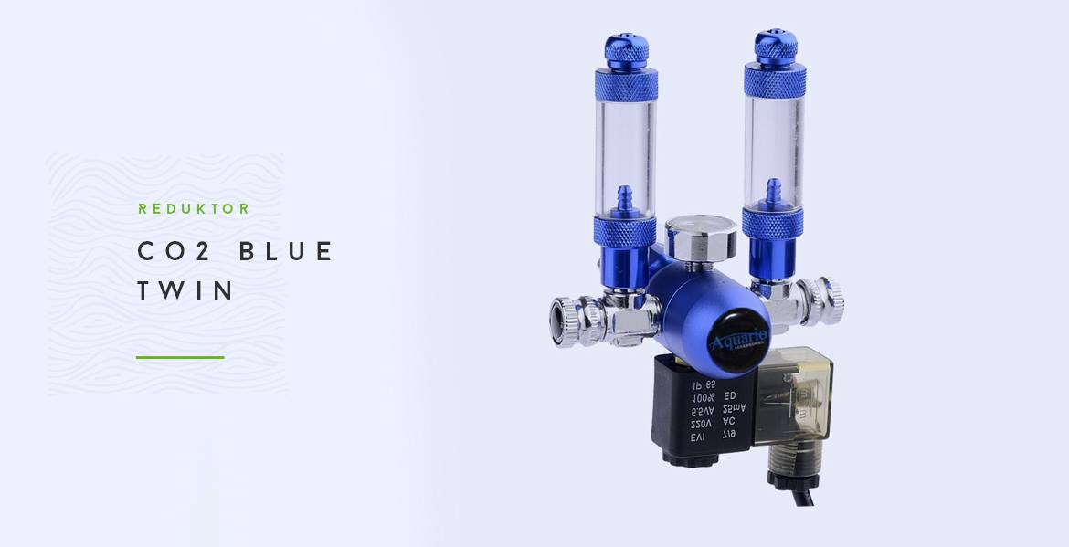 Reduktor CO2 Blue Twin